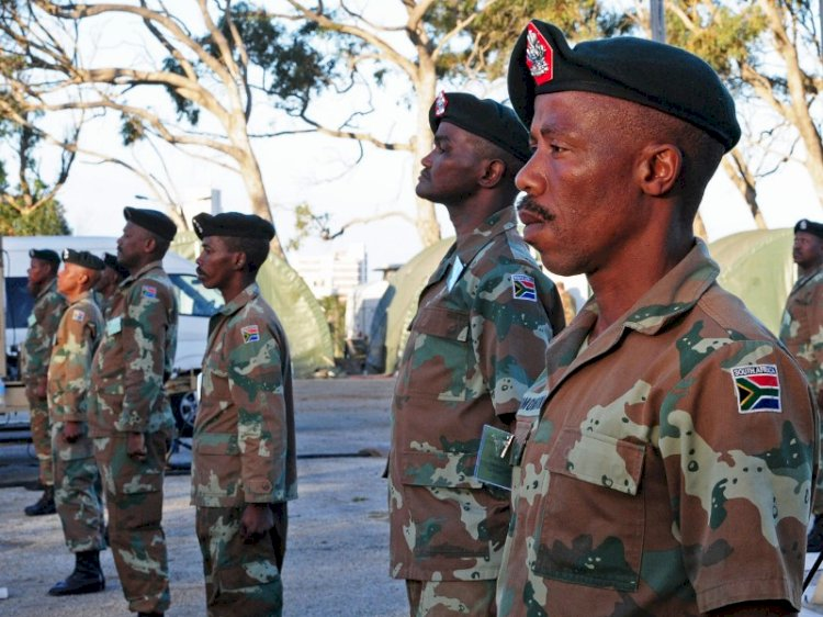 South African Army on standby to enforce coronavirus restrictions