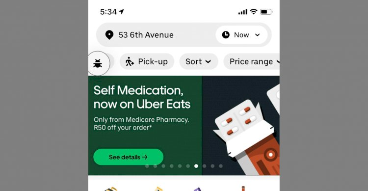 Uber launches medicines delivery service in South Africa