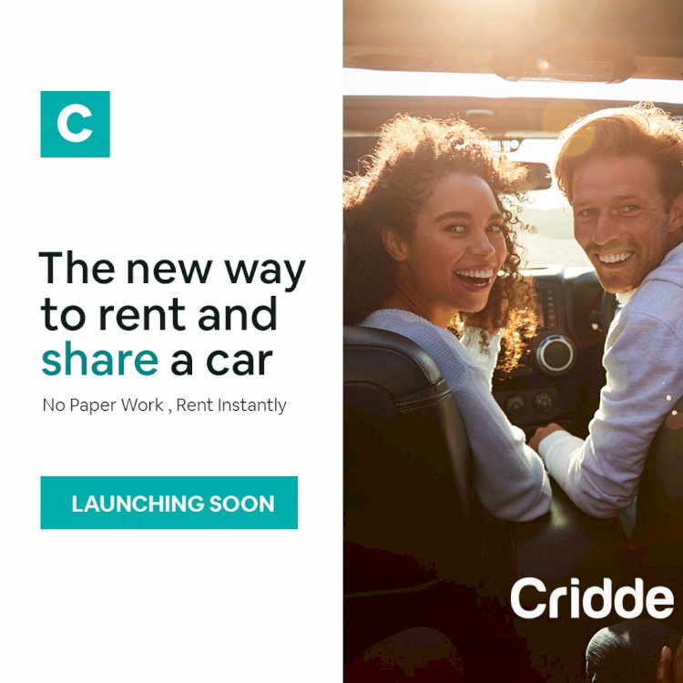 Cridde is ready to disrupt the car rental industry