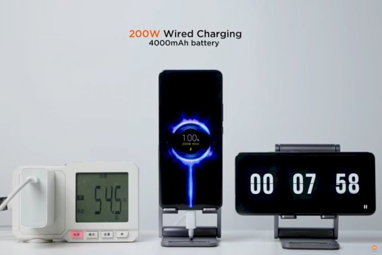 Xiaomi's 200W HyperCharge can fill a smartphone battery in 8 minutes