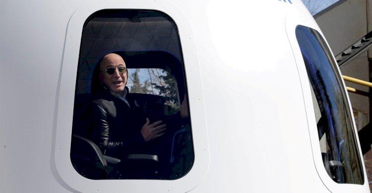 Jeff Bezos readies for historic Blue Origin space flight